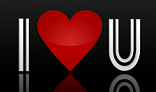I Love U Heart animation