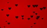 Appearing Hearts Effect