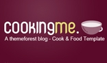 Cookingme - Resaurant , food and cook HTML - PHP Theme