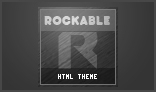 Rockable - Social Music HTML Theme