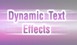 Dynamic Text Effects XML Driven