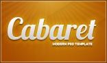 Cabaret - Modern PSD  Template