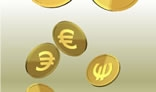 Falling Money Euros
