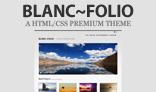 Blanc~Folio - Clean Portfolio Template