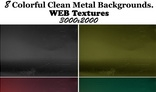 Clean Metal Backgrounds
