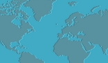 Dotted world map background