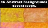 16 Abstract backgrounds