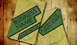 Paper Textured busness card