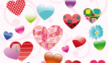 The complete set of hearts