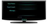TV Contact form