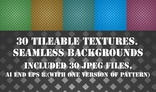 Tileable textures. Seamless backgrounds.