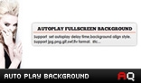 Auto Play Fullscreen Site Background