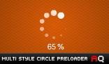 Multi-Style Circle Preloader AS2.0