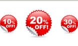 Discounts Icons