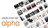 Alpha - Icons Set