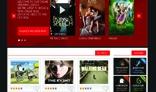 online  TV, video , Social Template