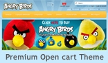 Angry Birds Shop - Premium Opencart 1.5