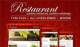 Restaurant - Modern & Professional PSD Template