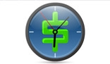 Clocks animation. 3Kb only.