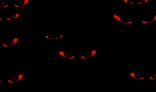 Devils eyes in the dark.