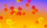 Autumn leaves falling down. AS2 + AS3 versions. 4kb only.