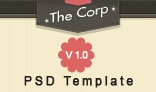 The Corp - PSD Template