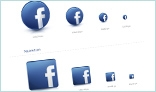 Facebook 3D Icons Pack