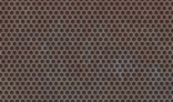 texture of rusted metal honeycomb