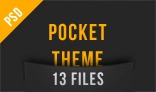 Pocket Theme - PSD Template