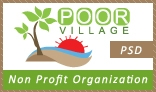 Poor Village PSD Template