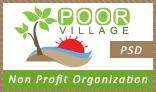 Poor Village PSD Template