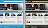 Business Website - PSD Template