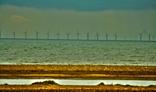Windmills in a sea