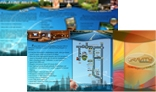 Corporate PSD Z-Fold Brochure for Print