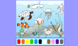 Paint the Picture - Sea Animals