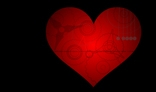 Gear heart - symbol