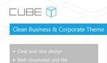Cube - Clear PSD Template