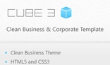 CUBE 3 – Clean Business Corporate Theme