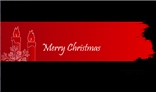 Christmas greeting banner