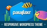 Parallaxr - Single Page Parallax Wordpress Theme