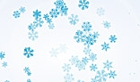 Swirl of snowflakes. AS3.0. Flash animation 5Kb only.