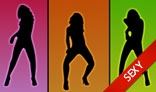 Sexy Silhouette Dancers