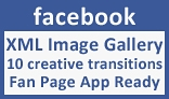 Facebook XML Creative Image Transition Gallery