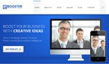 E-booster Clean Business PSD Template