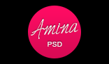 Amina - Single Page Portfolio Template