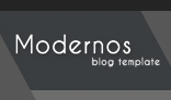 Moderno Creative PSD Blog Template