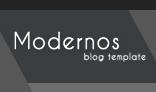 Moderno Creative PSD Blog Template