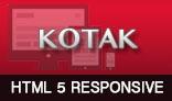 KOTAK - Clean Responsive Web