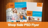 Shop Sale PSD Flyer