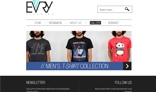 Clothing Website PSD